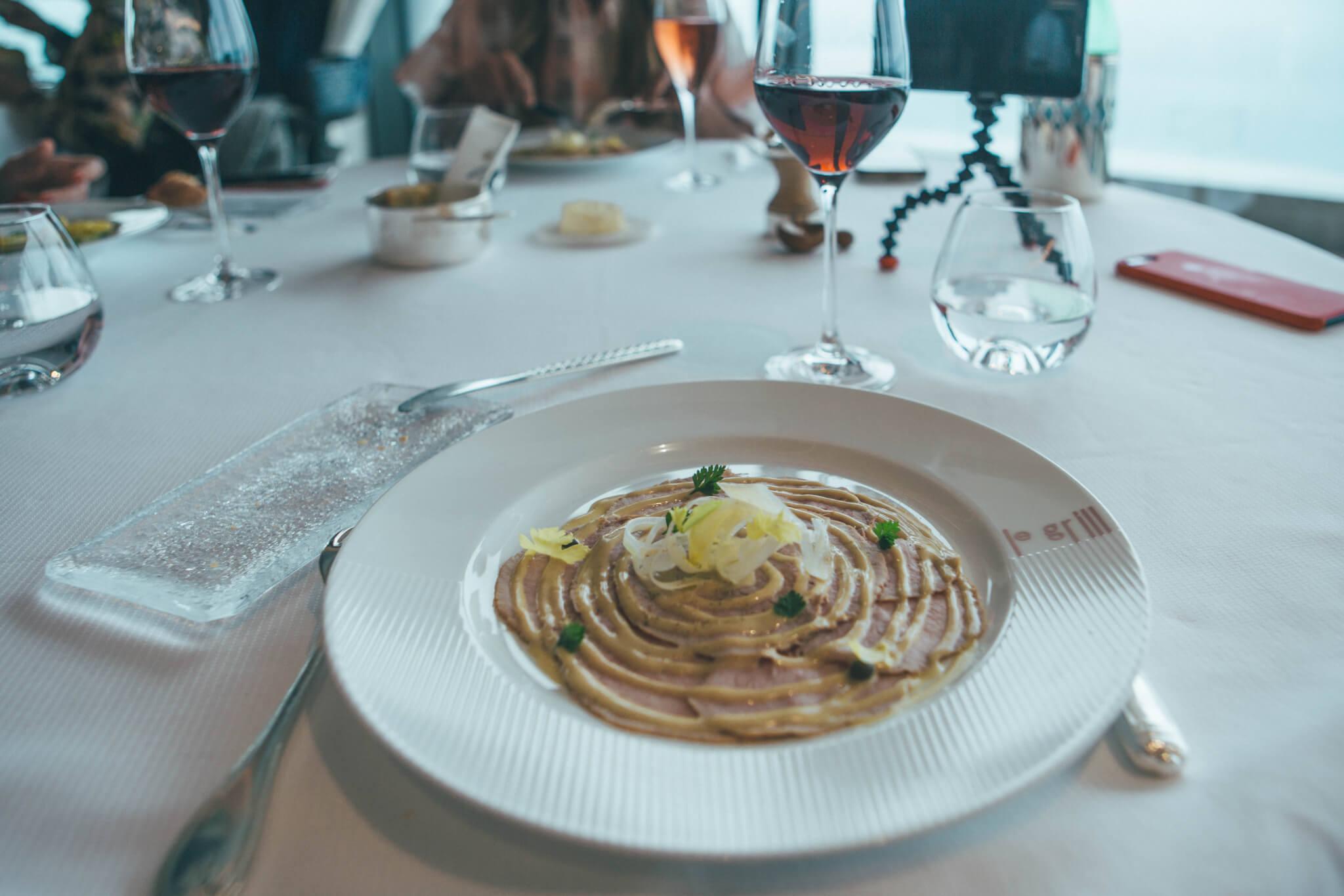 Lunch at Le Grill Hotel de Paris