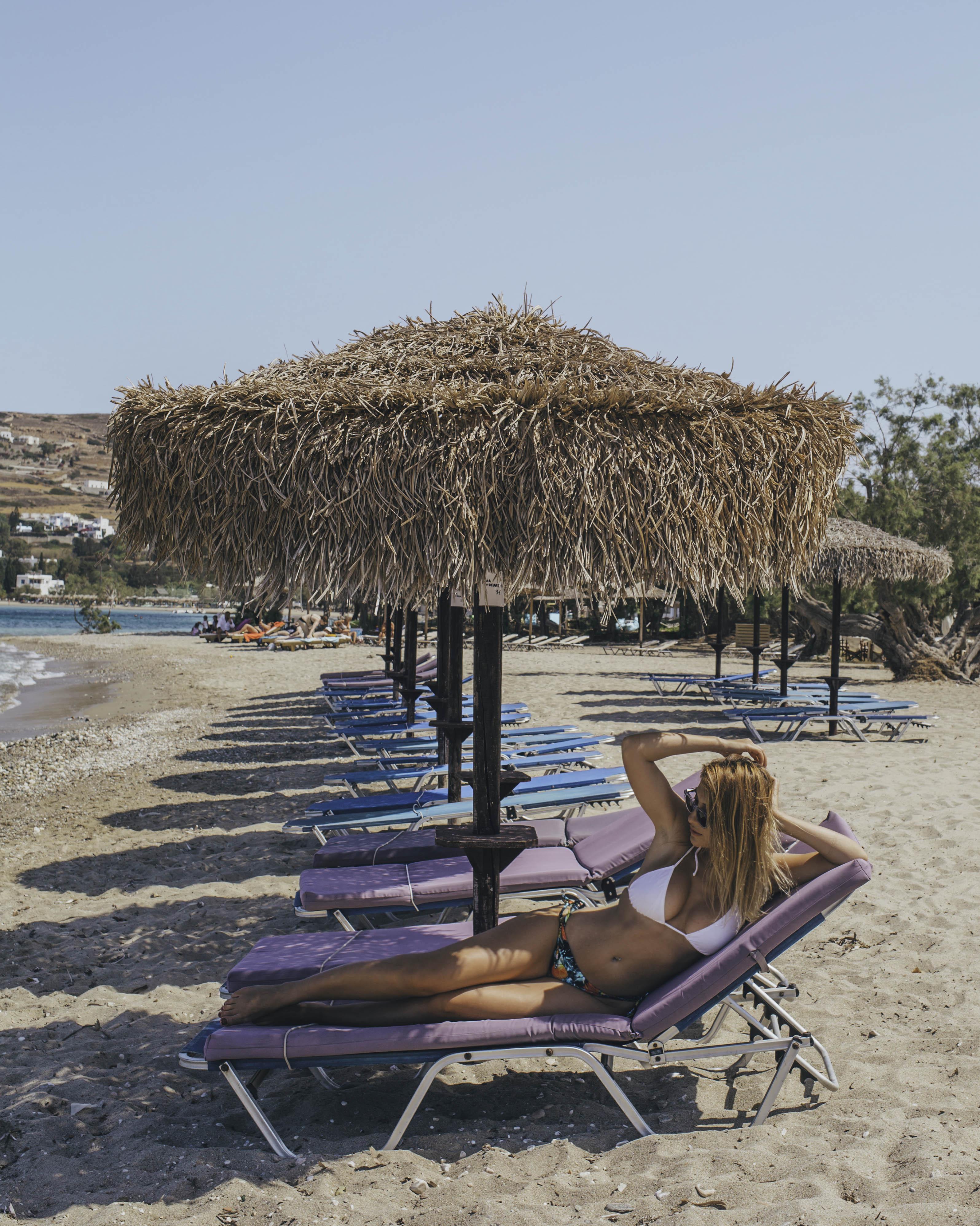 Parikia beach, Paros Beach