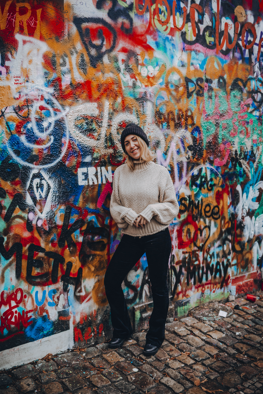 John Lenon wall Prague
