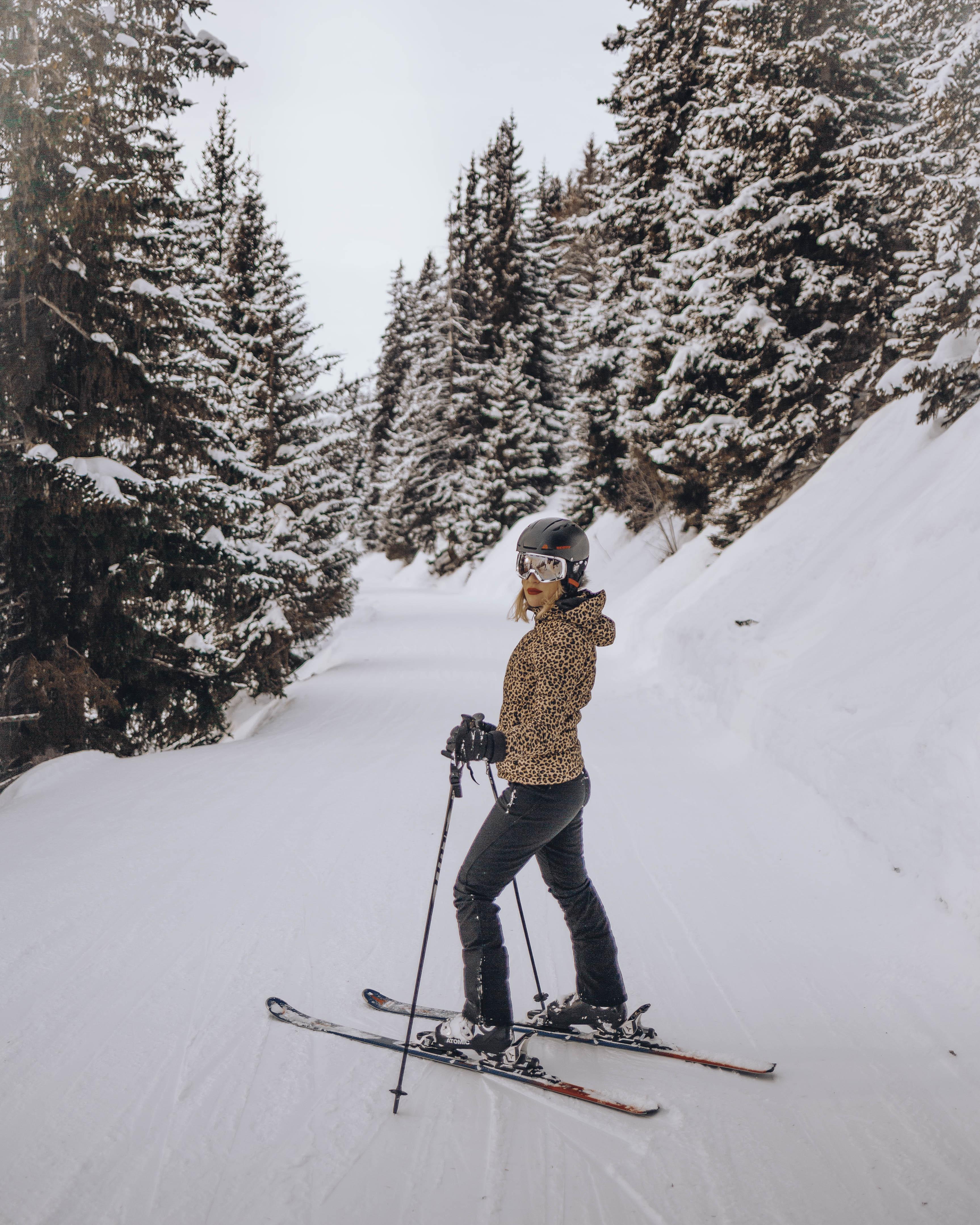 skiing in Verbier