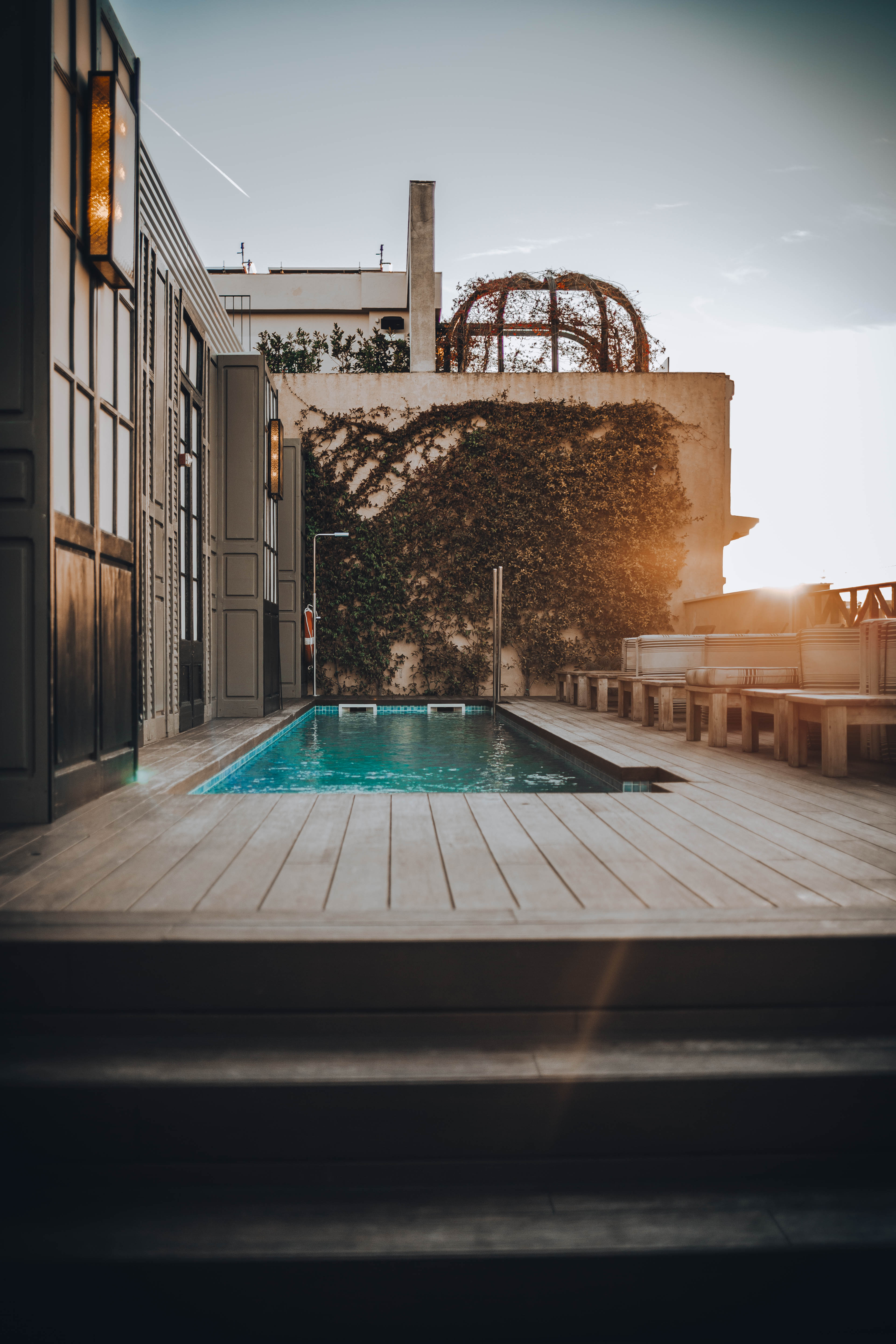 Cotton House Barcelona swimming pool