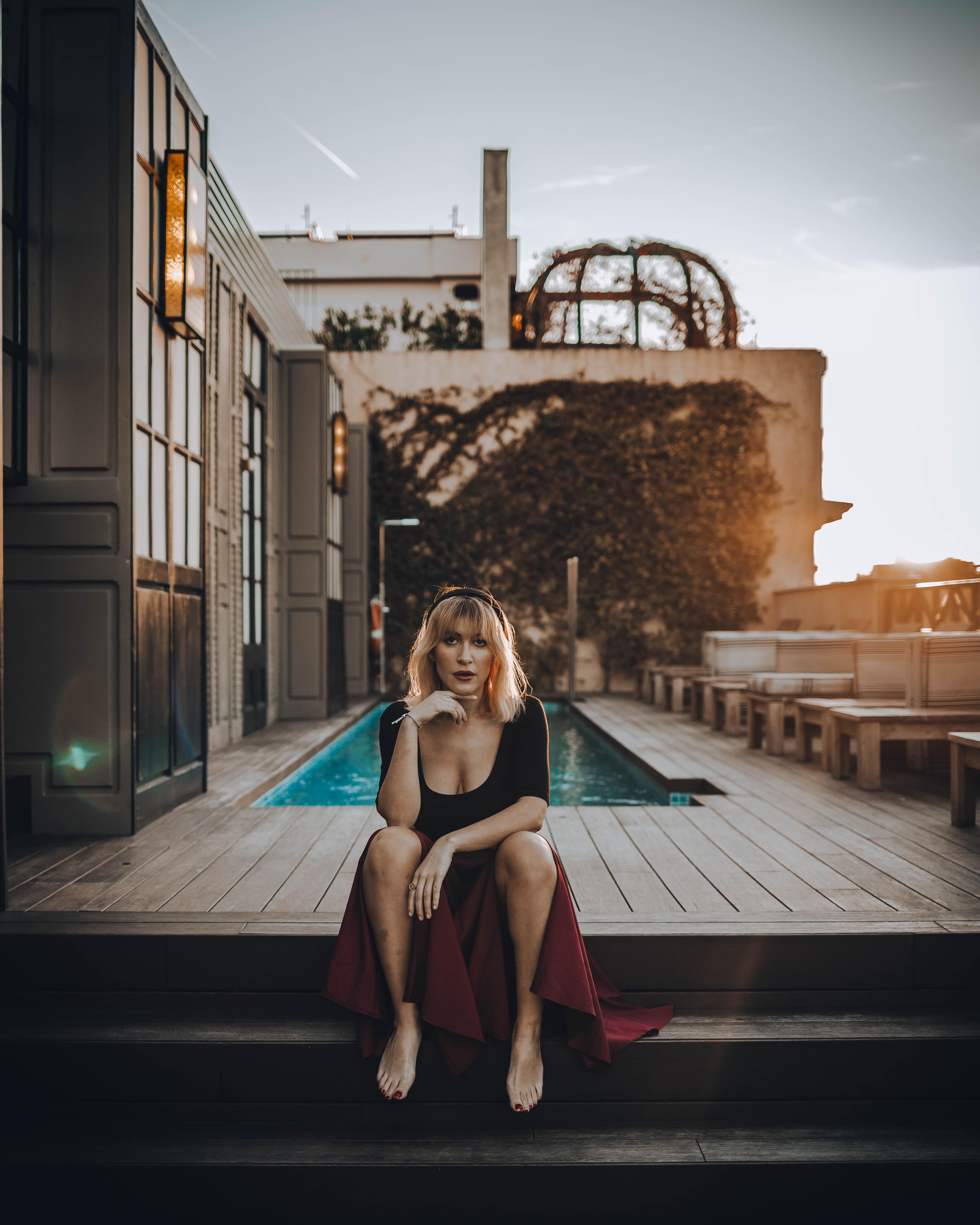 Cotton House Barcelona swimming pool