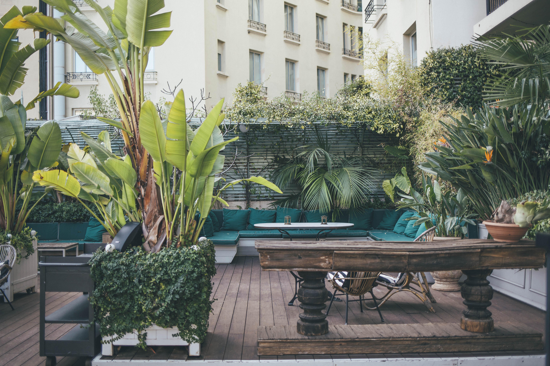 Cotton House Barcelona terrace