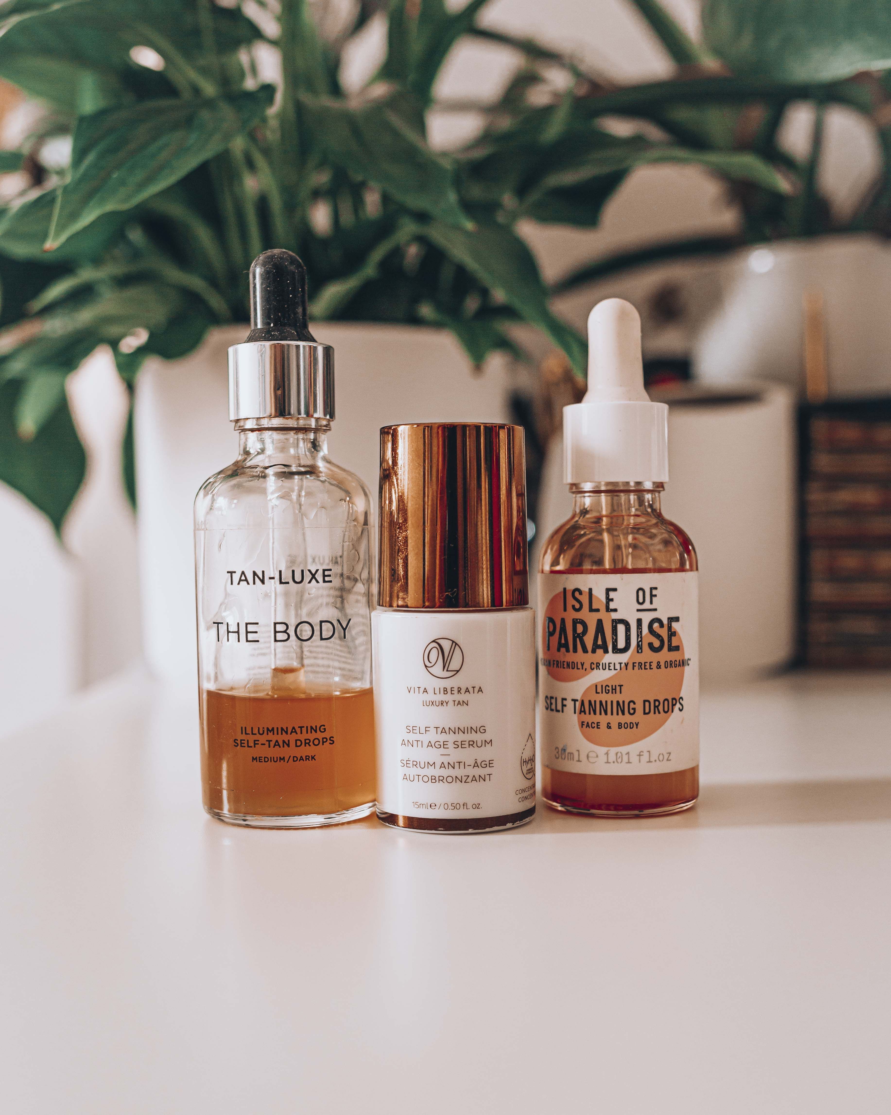 tan luxe oil drops