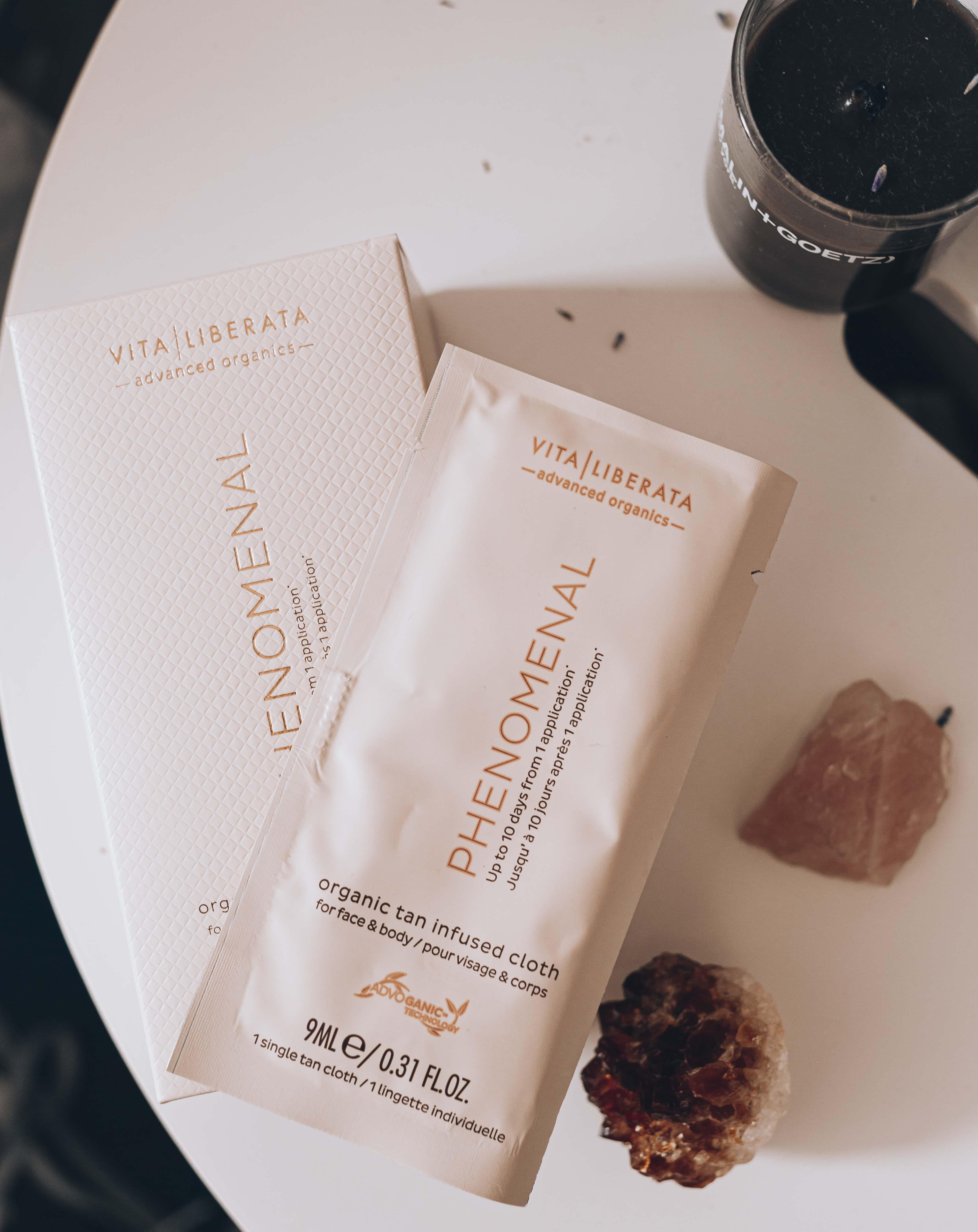 Vita Liberata Tan Infused Cloths