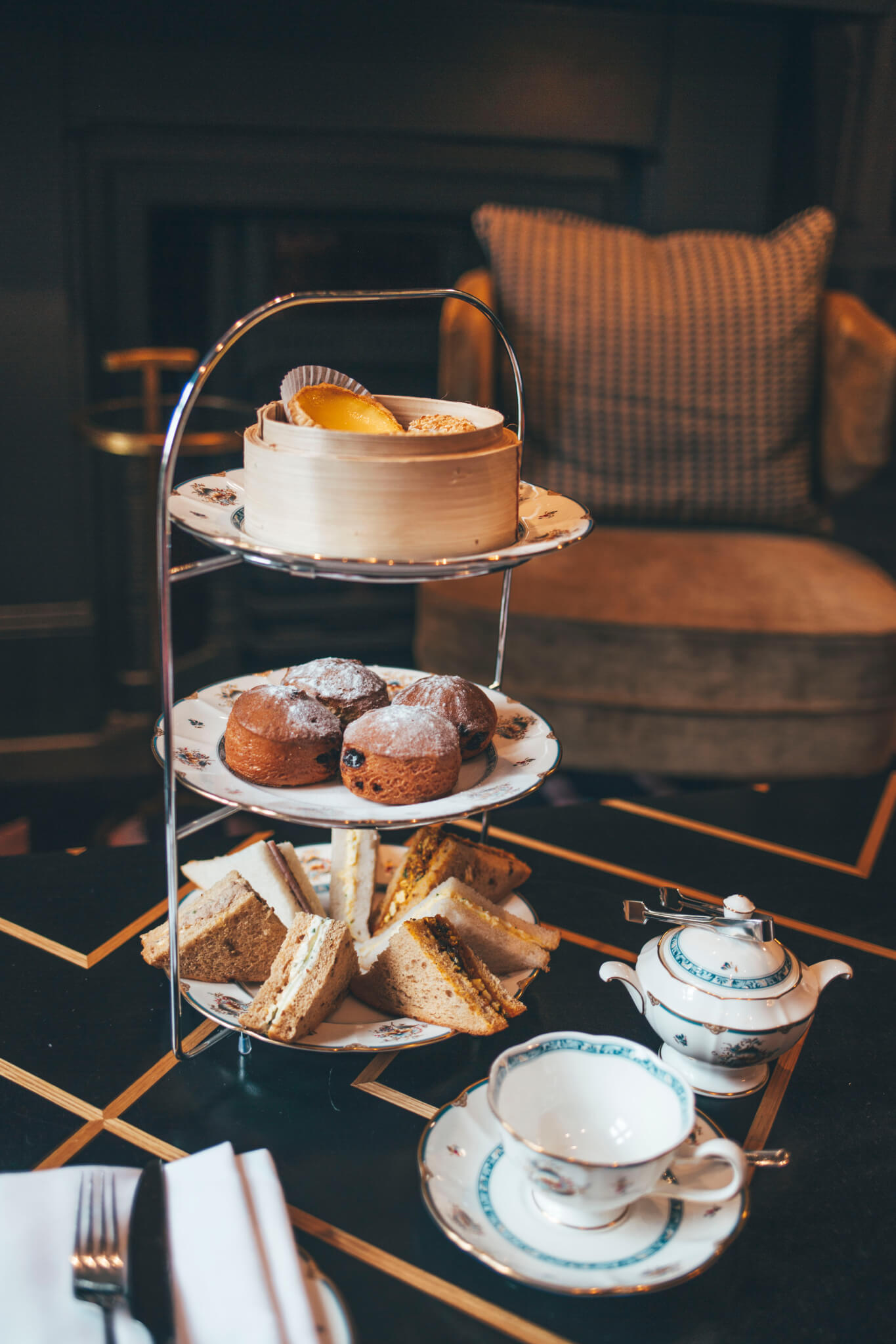 Our afternnon tea at The Academy Hotel Bloomsbury