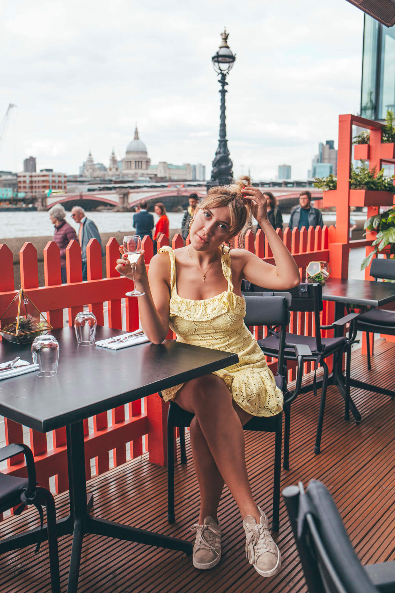 Riverside restaurants London - Dinner at Sea Containers