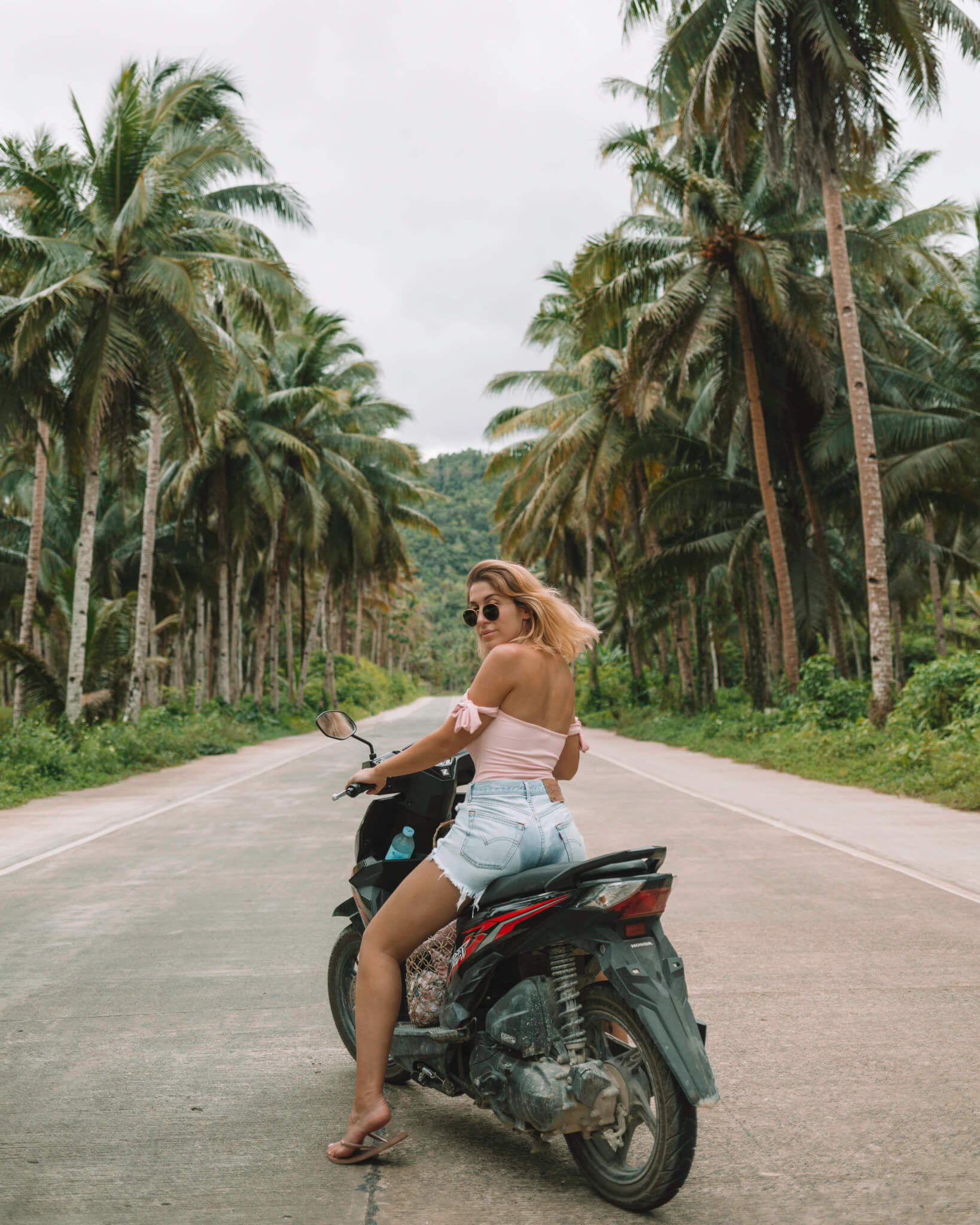 Scooter riding In Siargao