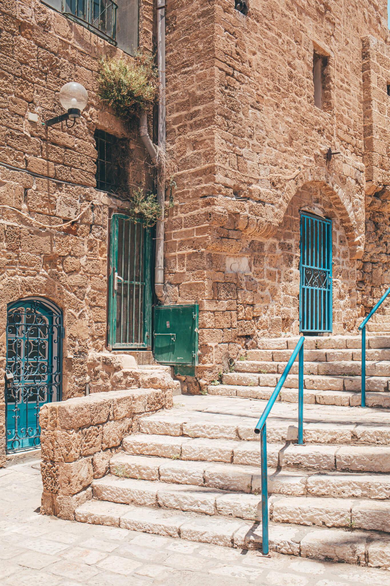 Old city Jaffa