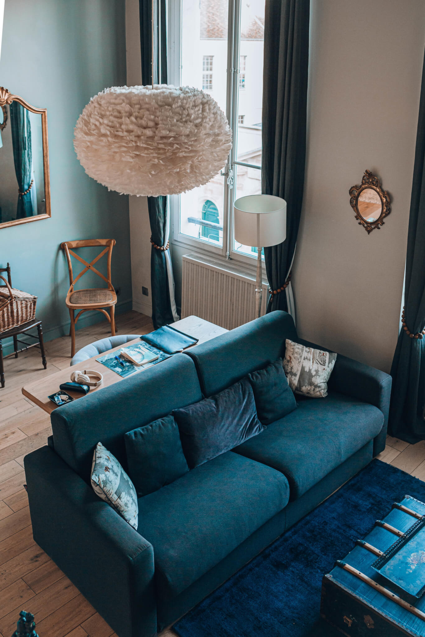 I stayed in an apartment in Paris via Cobblestone properties