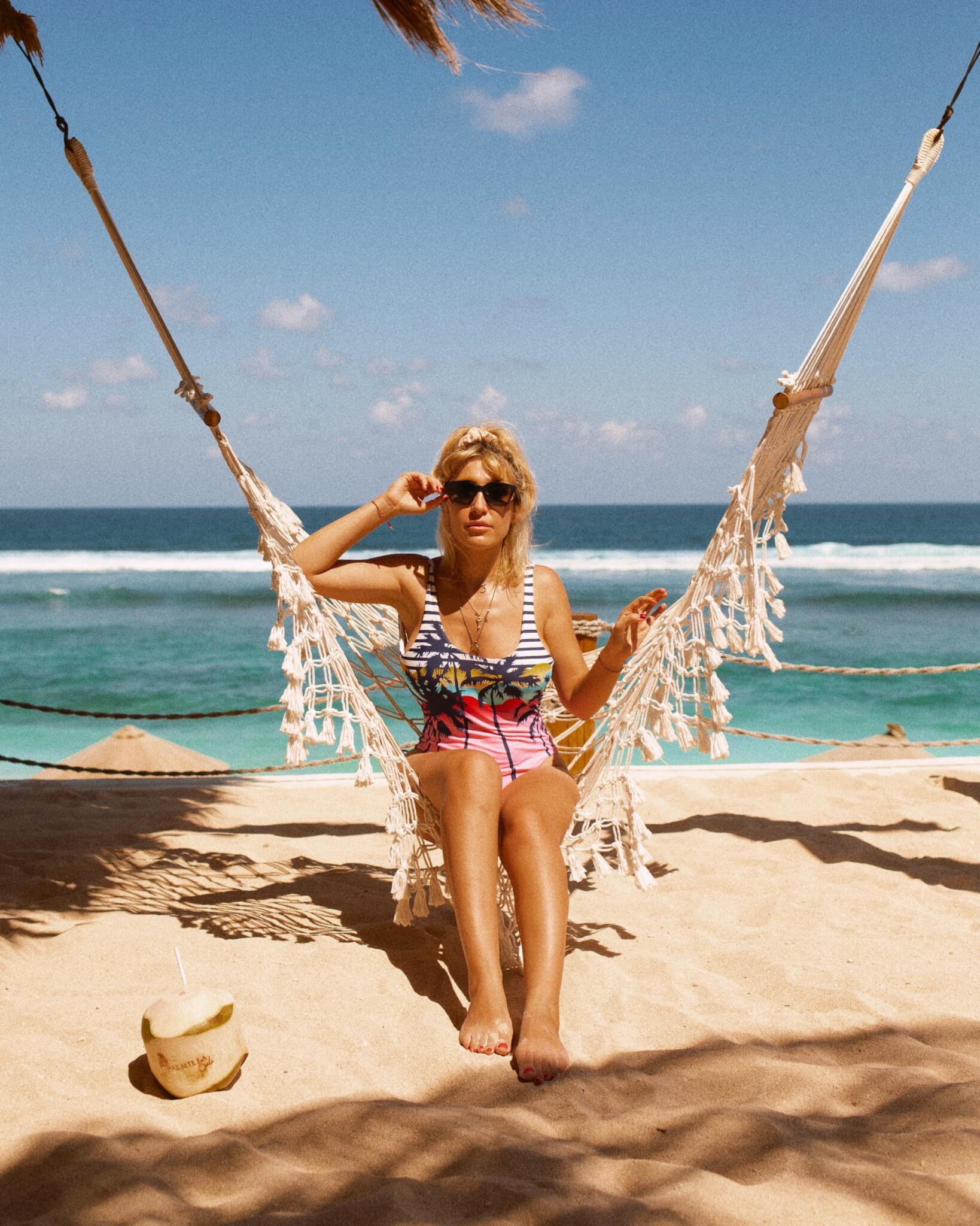 Favourite beach club in Bali